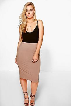 Plus Samia Midi Skirt