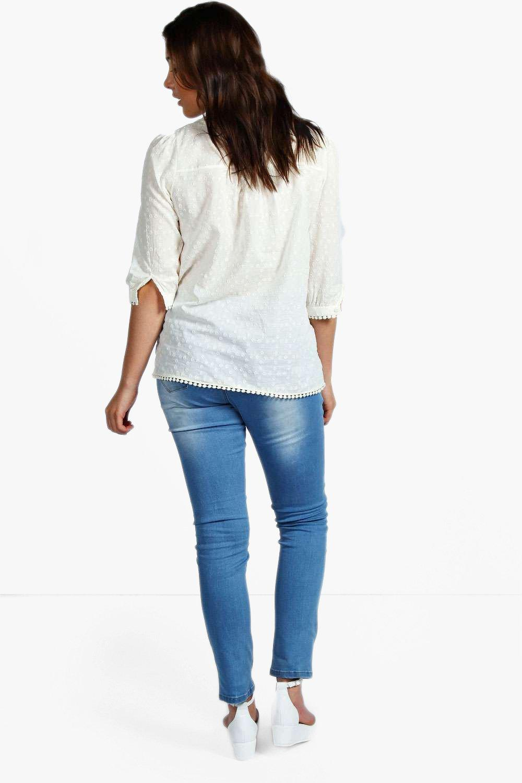 boohoo plus mel jean skinny stretch taille haute pour femme ebay. Black Bedroom Furniture Sets. Home Design Ideas