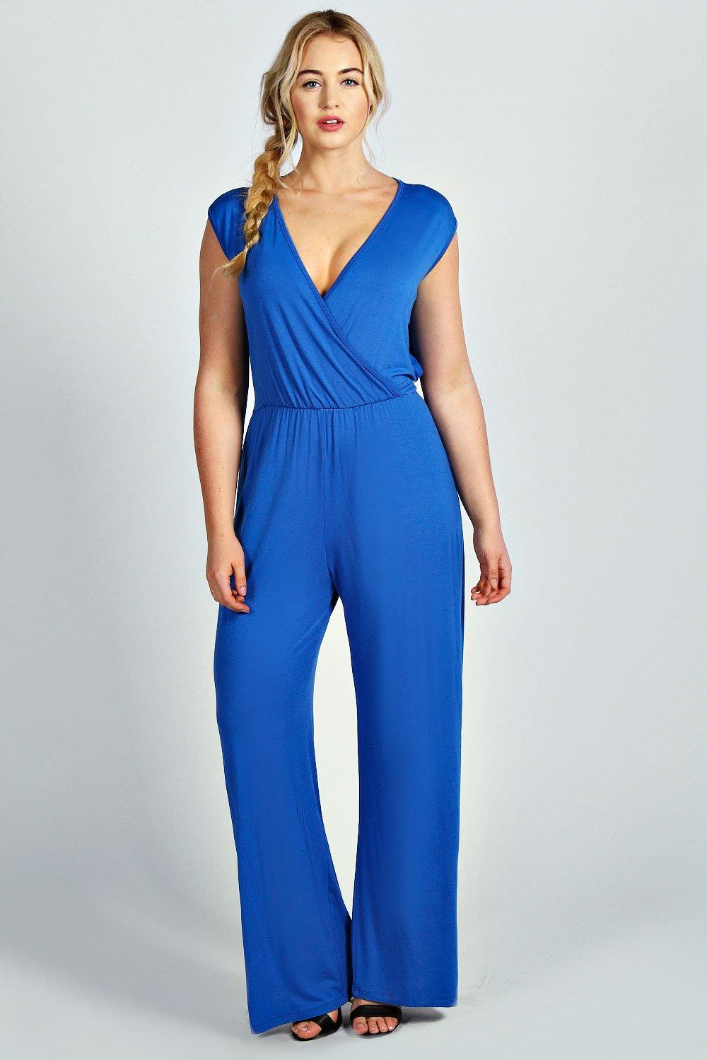 Laura Cross Front Jumpsuit