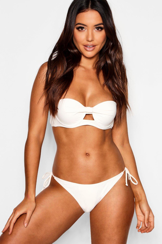 Купить Bikini Tops, Mix Match на косточках и Топ без бретелек с эффектом пуш-ап, boohoo
