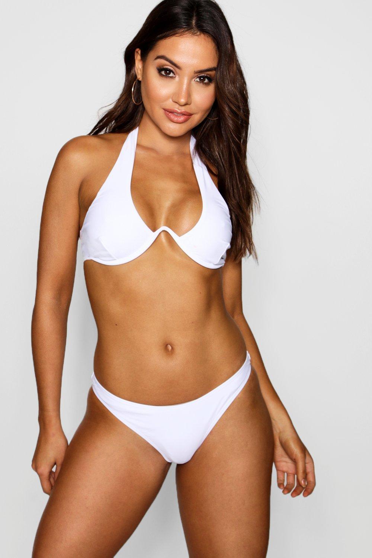 Купить Bikinis, Бикини с косточками с V-образным элементом, boohoo
