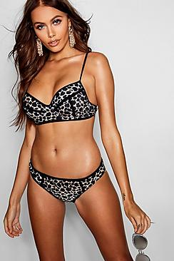 Animal Ultra Push Up Underwired Bikini