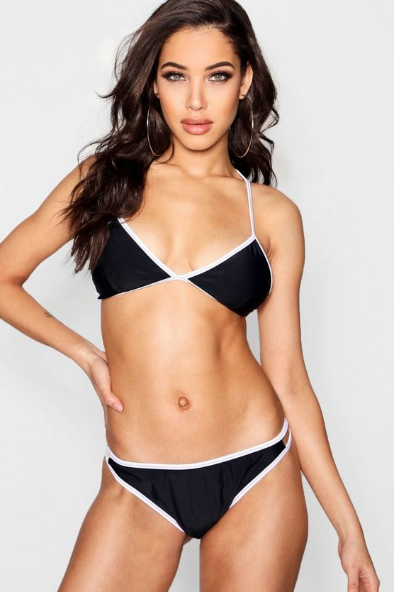Cross Stich Triangle Bikini