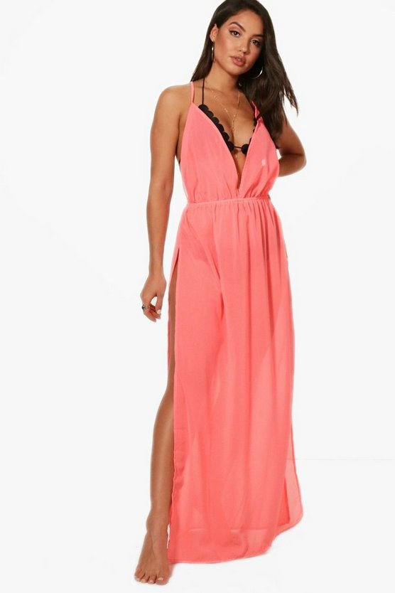Clara Split Leg Beach Maxi Dress