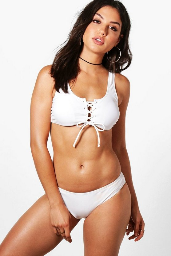 Grand Cayman Eyelet Front & Back Bikini