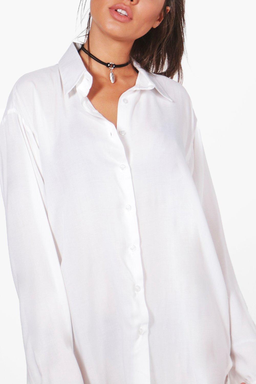 boohoo lucia chemise de plage pour femme ebay. Black Bedroom Furniture Sets. Home Design Ideas
