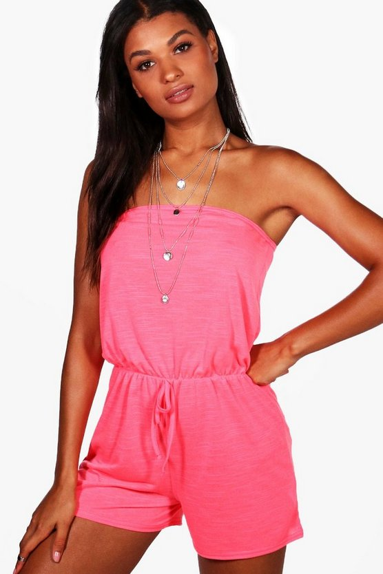 Hannah Jersey Beach Playsuit