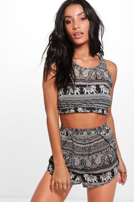 Elephant Cross Back Beach Co-ord