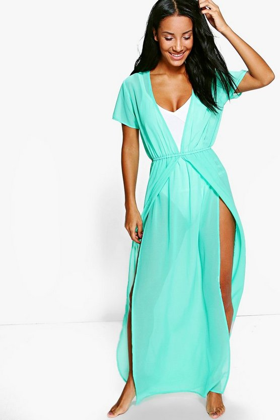 Georgia Split Leg Maxi Beach Kaftan