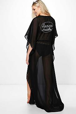 Evie Team Bride Maxi Beach Kaftan