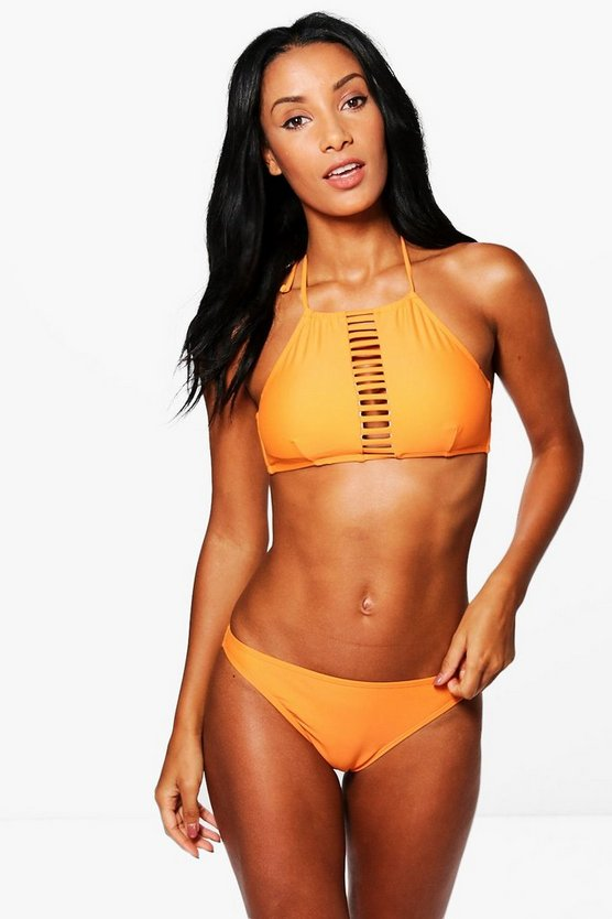 Skiathos Strappy Ladder Crop Bikini