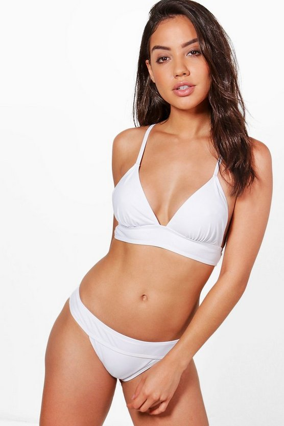 St Lucia Cross Back Triangle Bikini