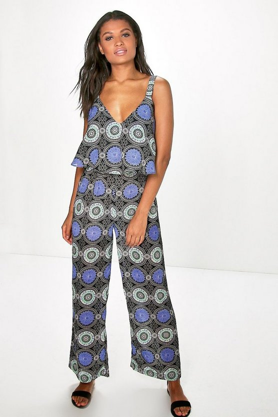 Bethany Tile Jumpsuit