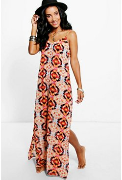 Maddison Kaleidescope Maxi Dress