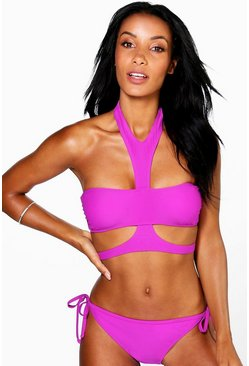 Tibet Mix And Match Harness Bikini Top
