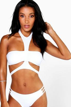 Zambia Mix And Match Harness Bikini Top
