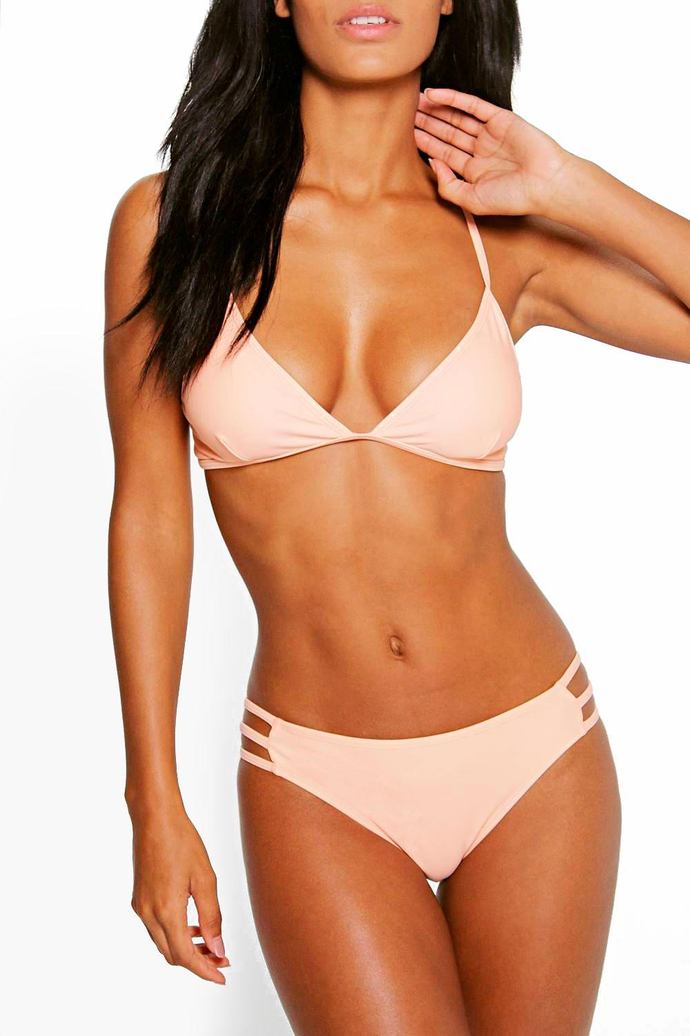 Mix And Match Strappy Bikini Brief orange