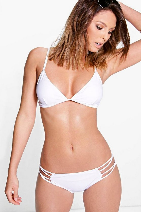Florence Mix And Match Caged Triangle Bikini Top