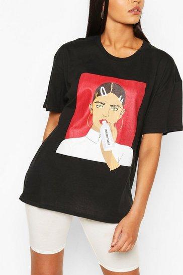 Black Tall 'Unicorn Tears' T-Shirt