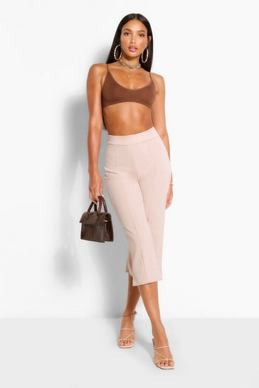 Stone Tall Tailored Woven Culottes