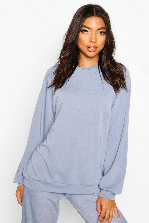 Womens Tall Sweatshirt - Blau - 38, Blau - Boohoo.com