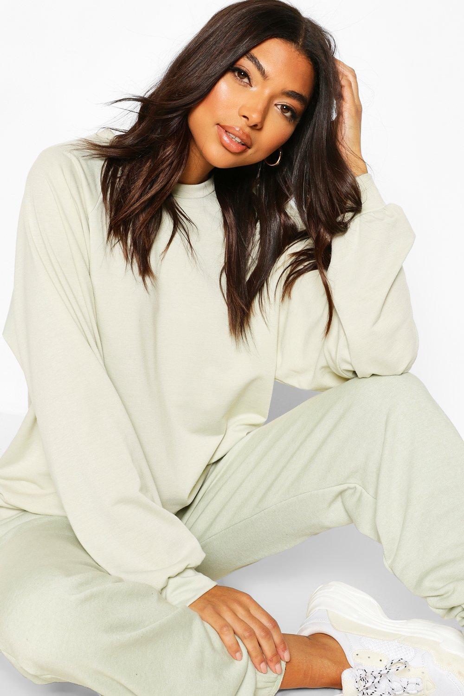 Womens Tall Sweatshirt - Limettengrün - 42, Limettengrün - Boohoo.com