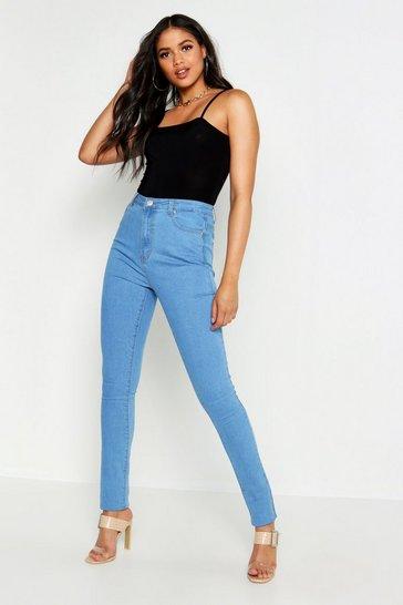 Light blue Tall High Waist Skinny Jean