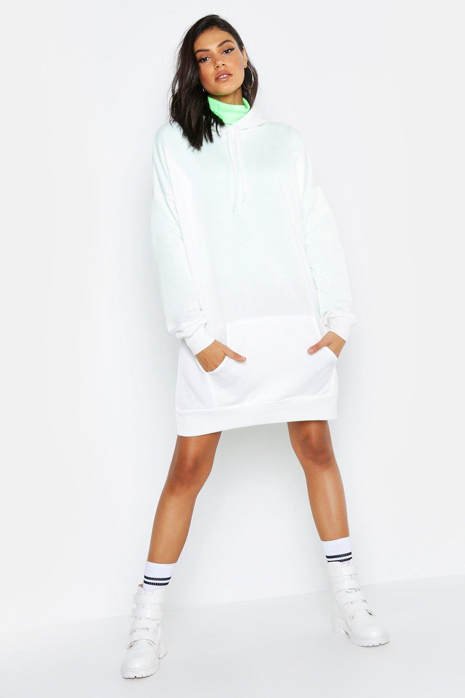 Купить К нам поступают платья, Из коллекции <Tall> Спортивное платье оверсайз с капюшоном, boohoo