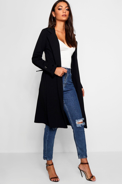 Купить Coats & Jackets, Халат-туника с рукавами с завязками из коллекции <Tall>, boohoo