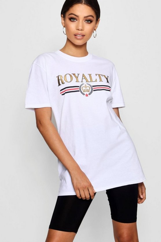 T-shirt Royalty Tall