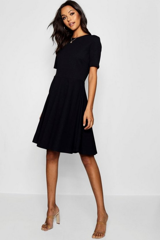 Tall Olivia Short Sleeve Skater Dress