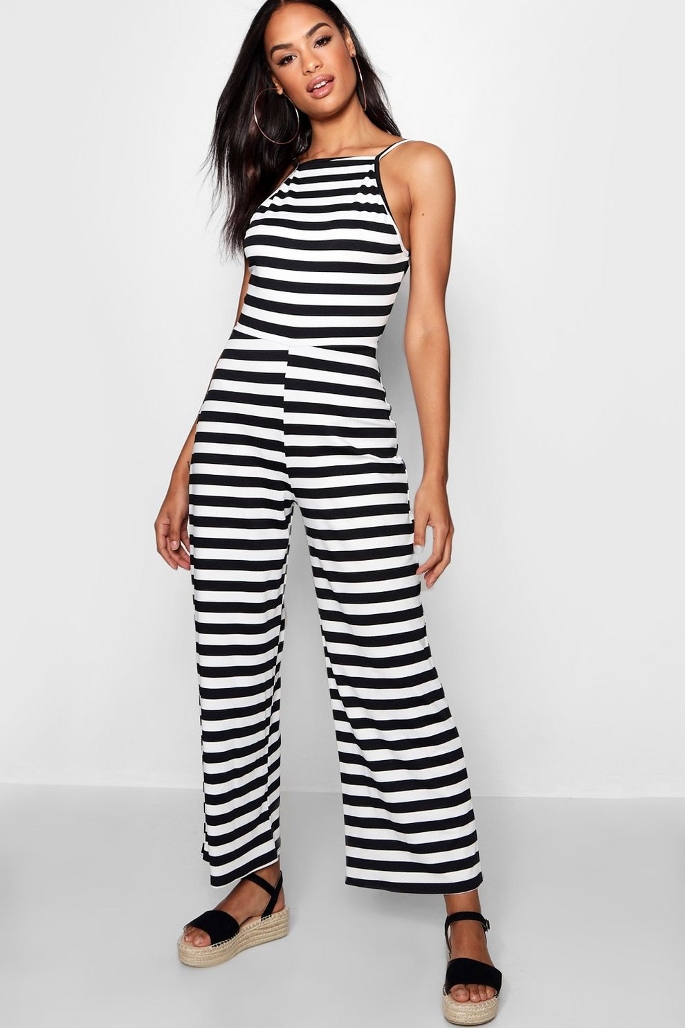 Boohoo Tall Stripe Culottes Free Shipping Fast Delivery Prices Cheap Online isxQar4eGL