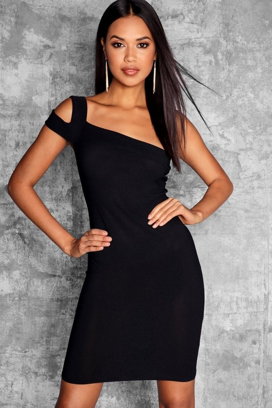 Tall Catrina Cold Shoulder Bodycon Dress