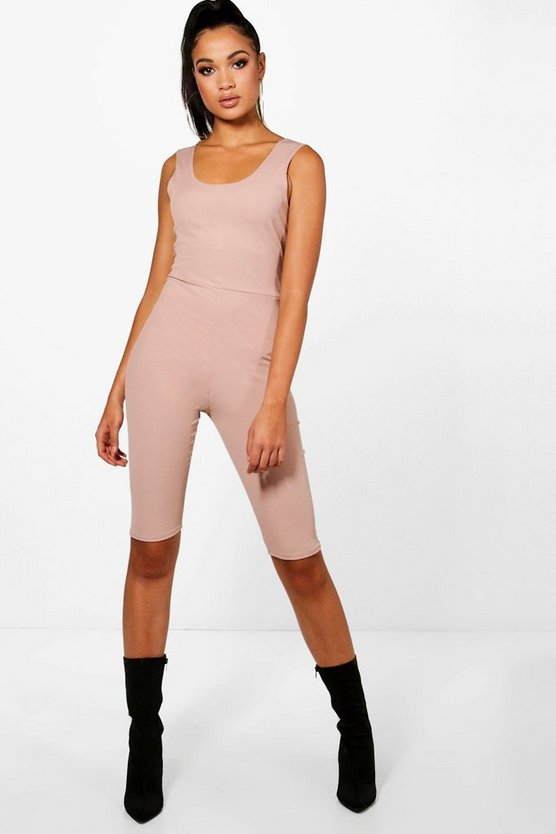 Tall Ashleigh Rib Knit Unitard