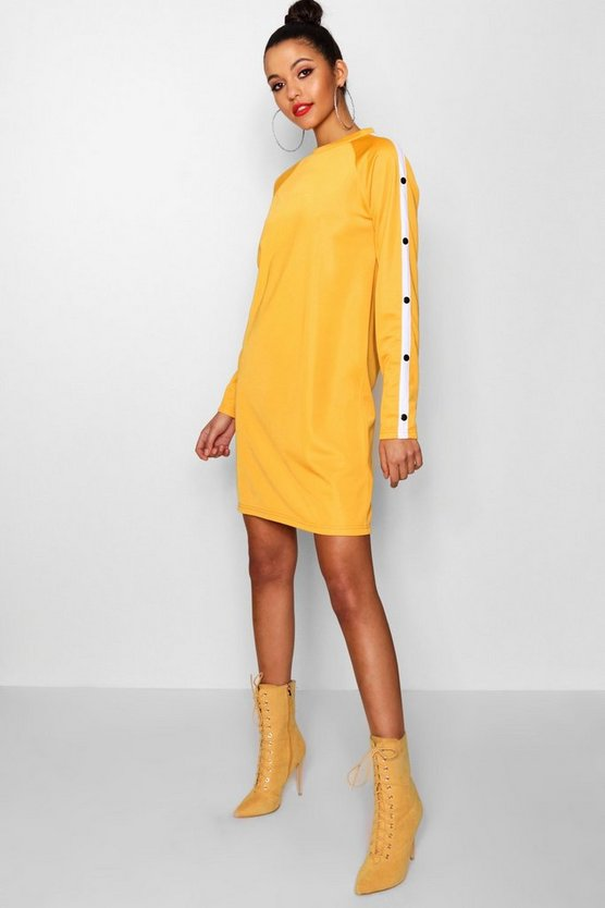 Tall Connie Popper Sleeve Sweat Dress
