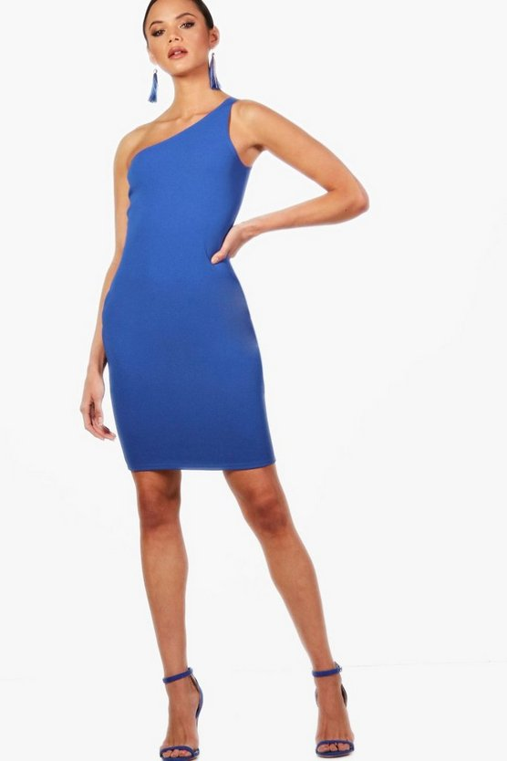 Tall Paige One Shoulder Bodycon Mini Dress