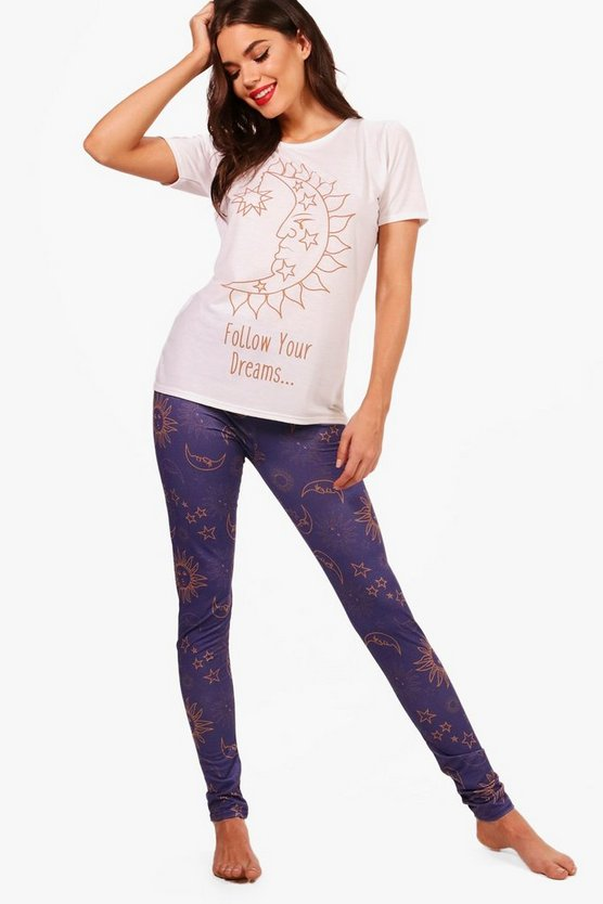Tall Ellie Follow Your Dreams Pyjama Set