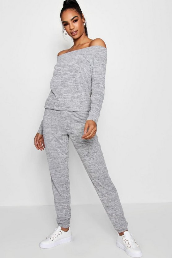 Tall Bethany Slouch Neck Lounge Set