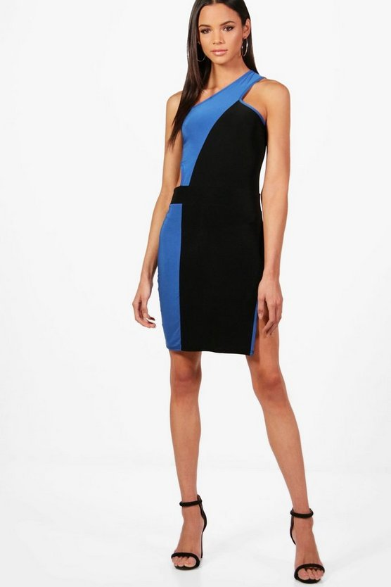 Tall Kimmie One Shoulder Cut Out Mini Dress