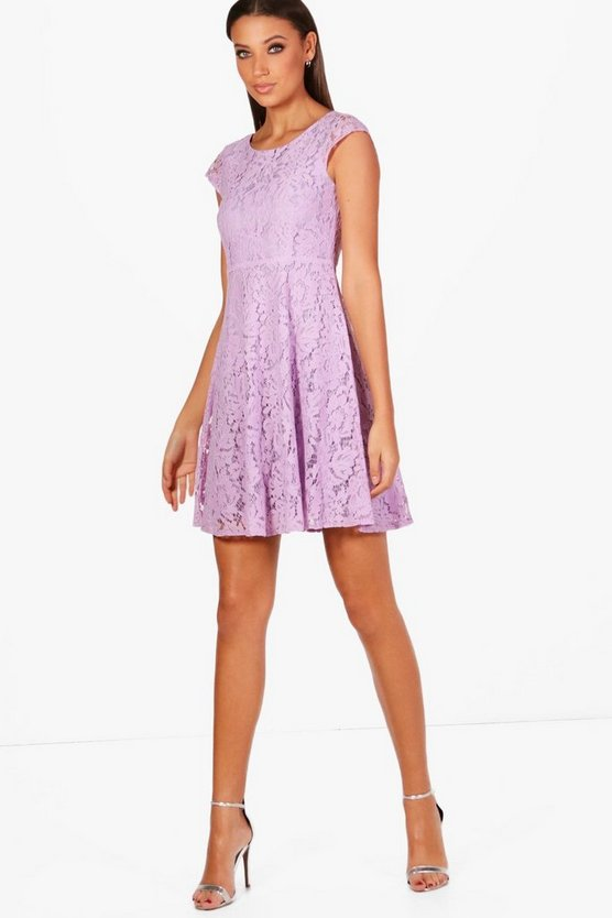 Tall Holly Lace Skater Dress