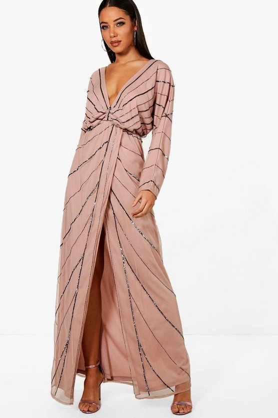 Tall Boutique Batwing Maxi Dress