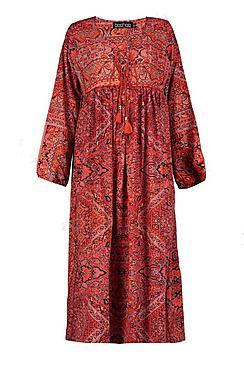 Tall Jasmin Paisley Print Maxi Dress