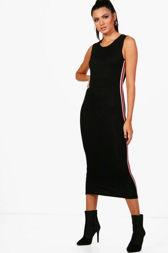 Tall Side Stripe Dress