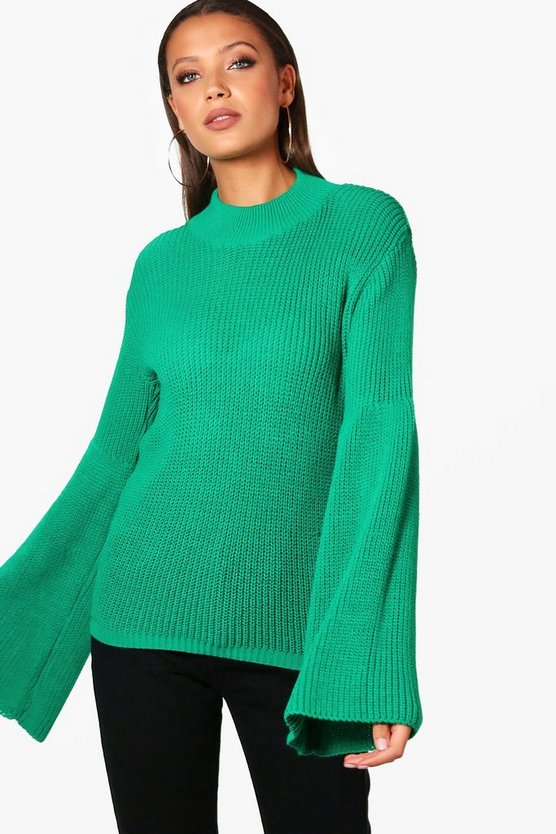 Tall Megan Wide Sleeve Jumper
