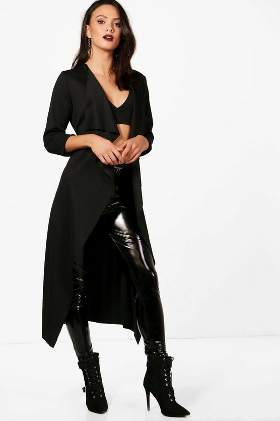 Tall Drape Front Jacket