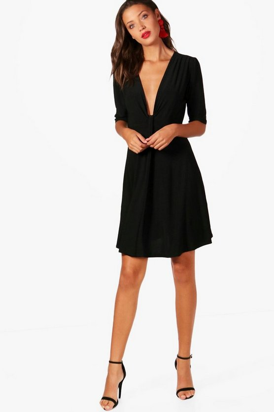 Tall Grace Drape Front Dress
