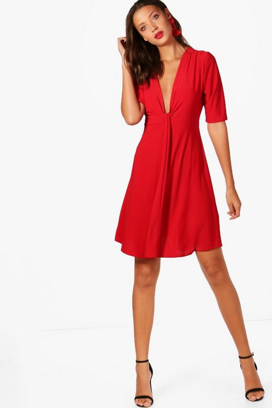 Tall Drape Front Dress