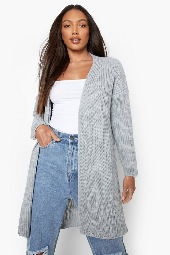 Tall Carla Fisherman Rib Cardigan