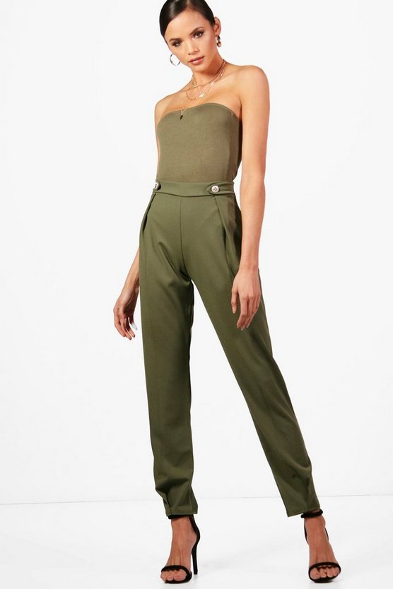 Tall Francesca Front Pleat Tailored Trouser