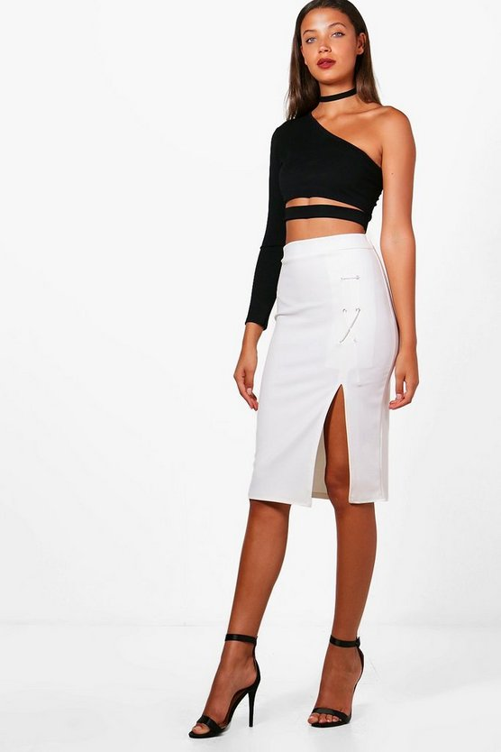 Tall Ella Lace Up Skirt
